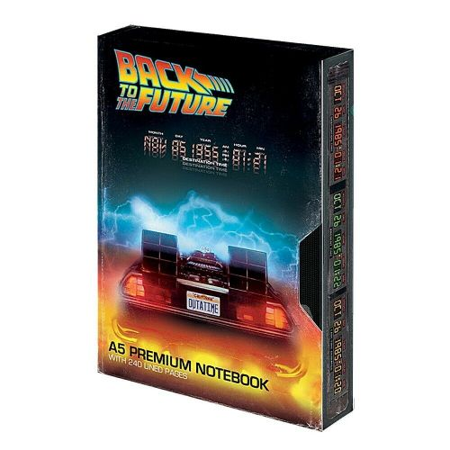 Back To The Future Great Scott A5 VHS Premium Notebook Note Pad